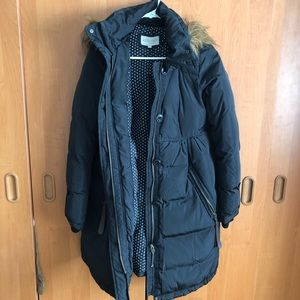 Feather down maternity coat *extra warm*